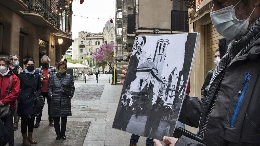 El lapidari de la Reforma s'obre al públic unint art i memòria històrica