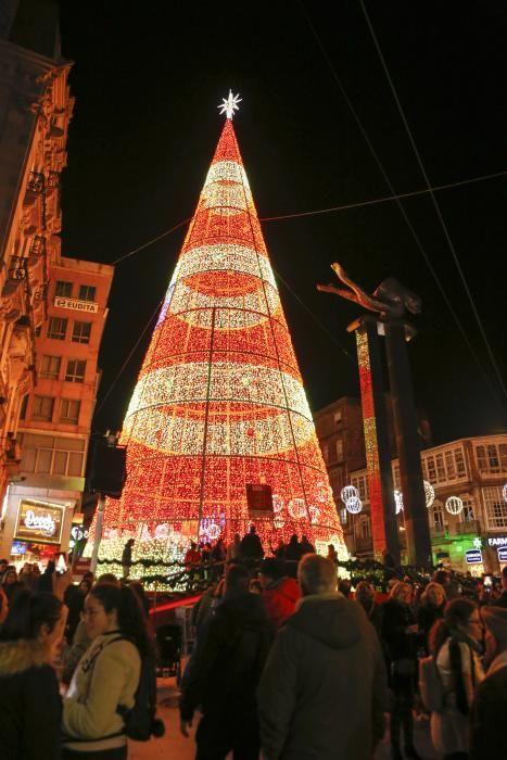 Navidad 2018 en Vigo | Encendido de las luces