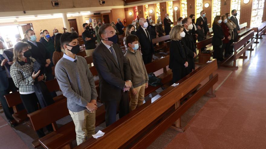 En imágenes: funeral por el arquitecto Nicolás Arganza