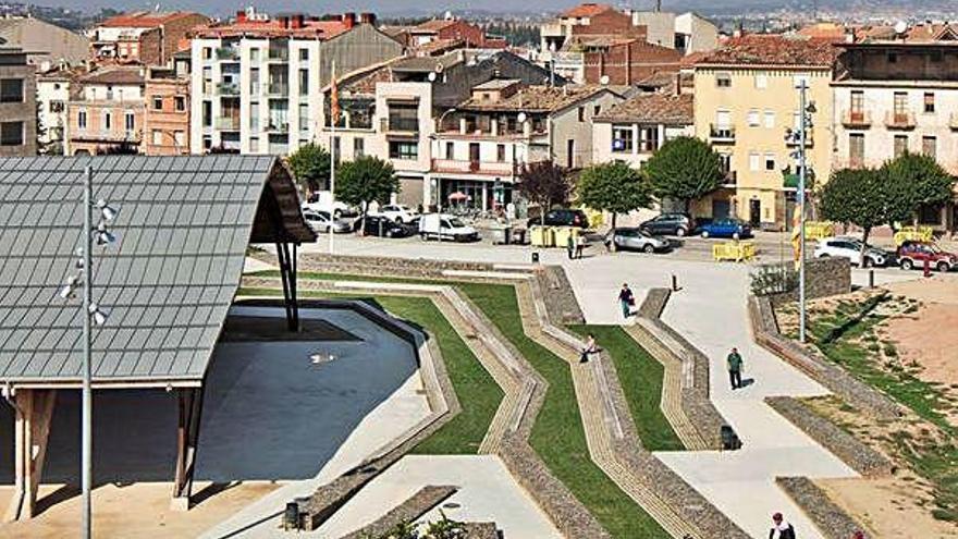 L'entorn del Cobert del Batre de Sant Fruitós, finalista en un premi mundial d'arquitectura