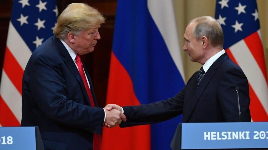 """""""Principio de acuerdo"""" entre Estados Unidos y Rusia para salvar el pacto nuclear"""