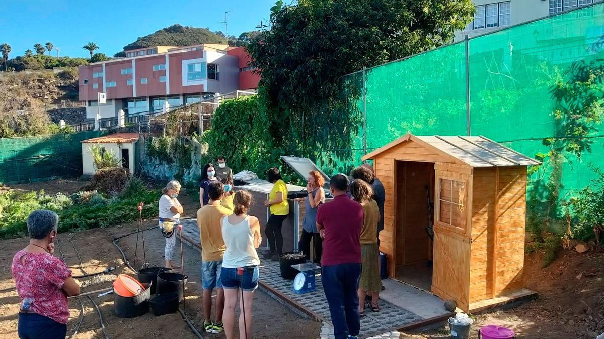 Instantánea del programa La Palma Orgánica