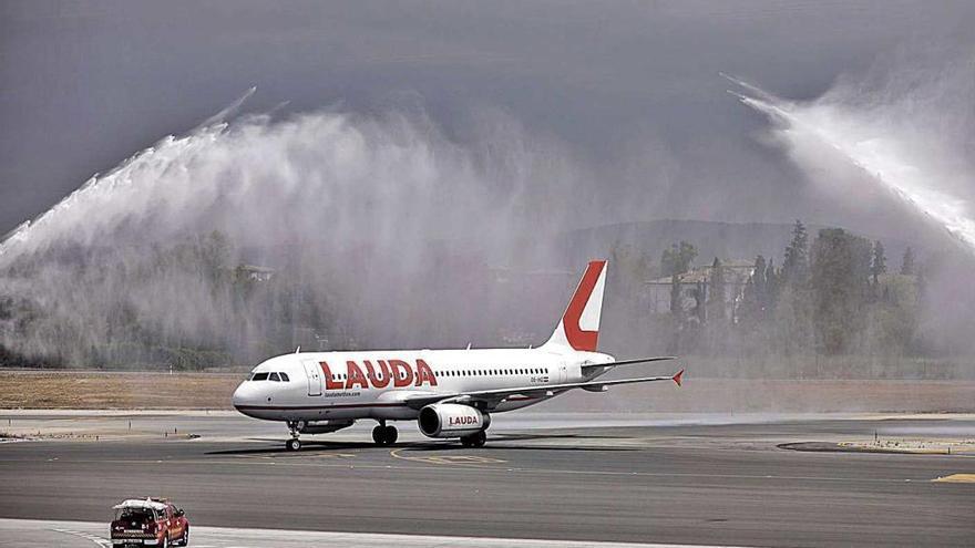 Lauda conecta Austria y Alemania con Mallorca mediante 156 rutas semanales
