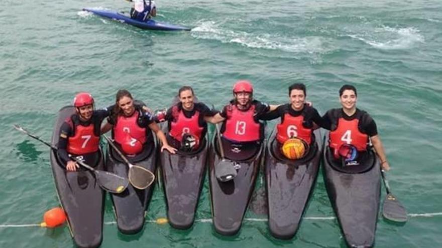 El kayak polo de Alaquàs llega a Italia