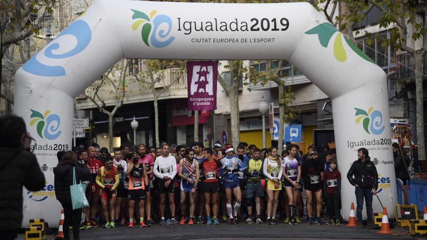 Roger Roca i Carme Tort, vencedors en la vuitena edició de la Reis Race d'Igualada