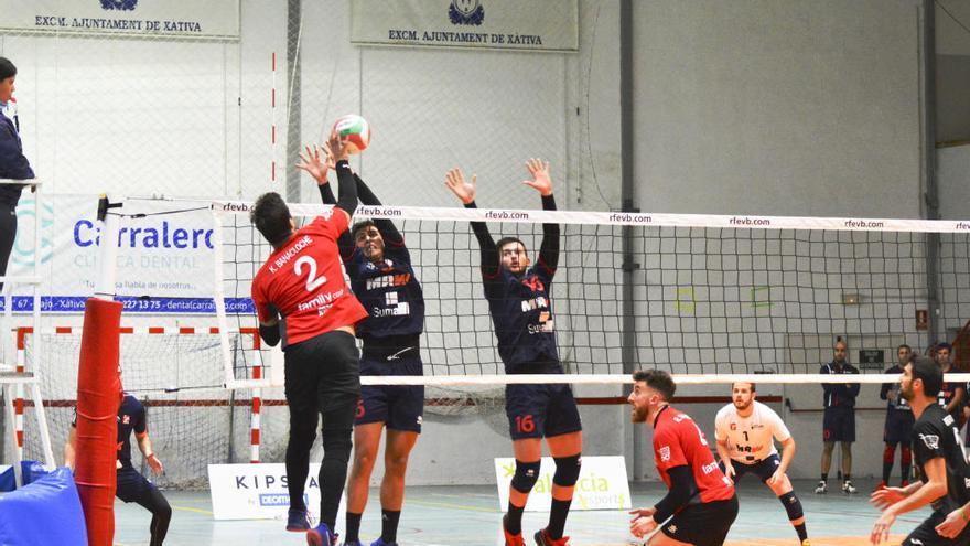 Aplazan la competición nacional de voleibol hasta el 4 de abril y los senior del CV Xàtiva no jugarán los tres próximos partidos previstos