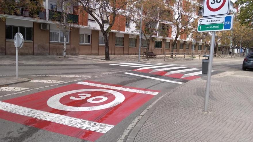 La velocidad del 90% de las calles de Palma será de 30 kilómetros por hora a partir de octubre