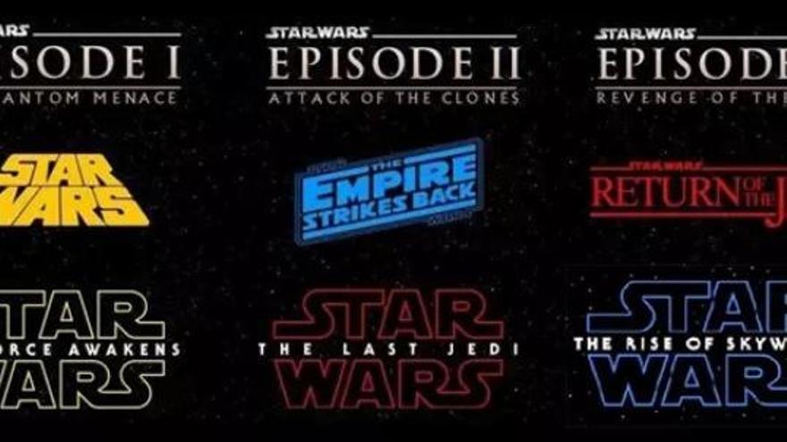 Star Wars: Este sería el orden correcto de los títulos de la saga