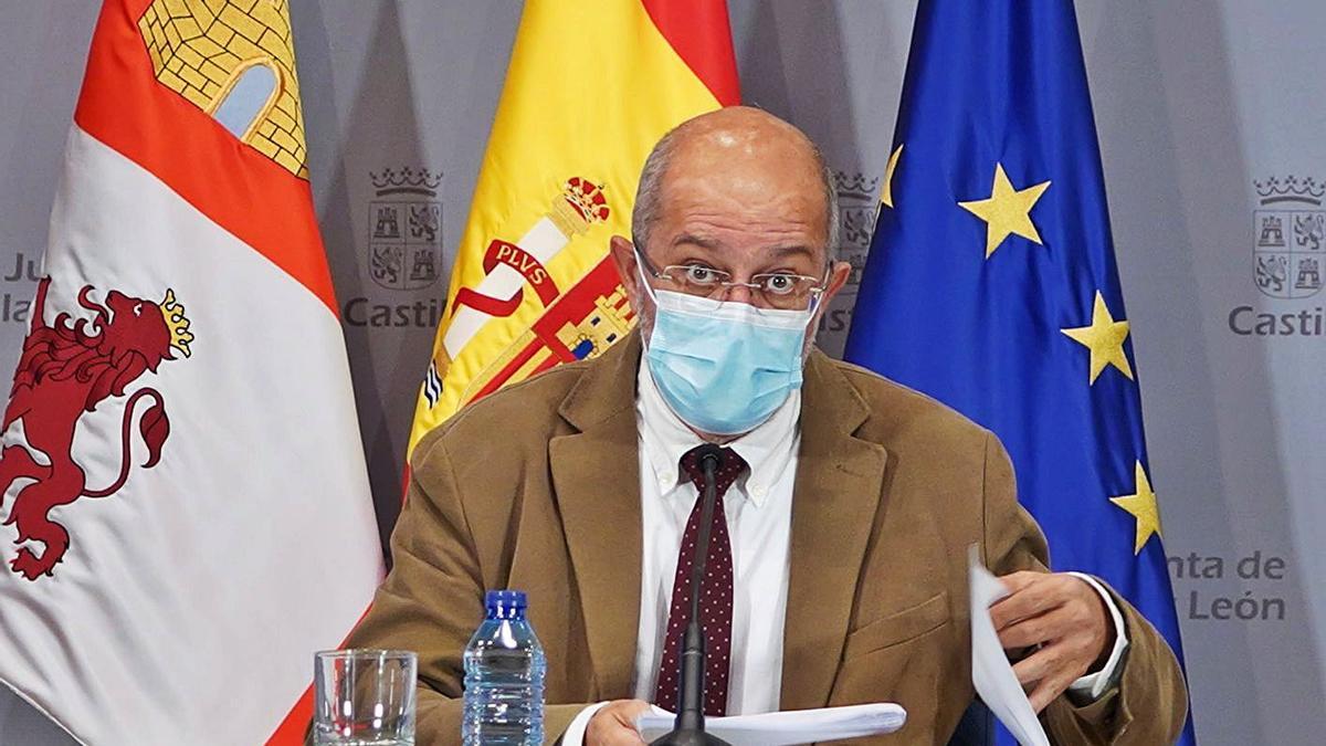 El vicepresidente, portavoz, Francisco Igea, comparece en rueda de prensa posterior al Consejo de Gobierno. | Ical