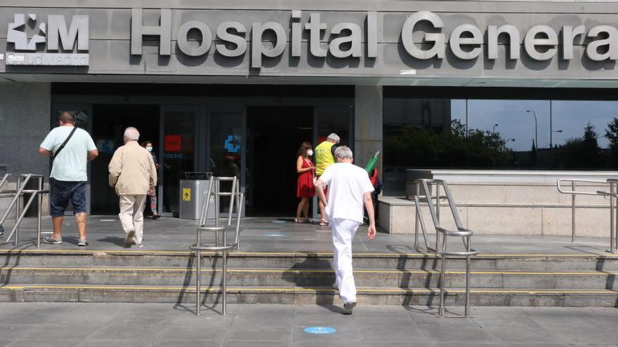 Detenida por abandonar a su recién nacido en un banco de un hospital de Madrid