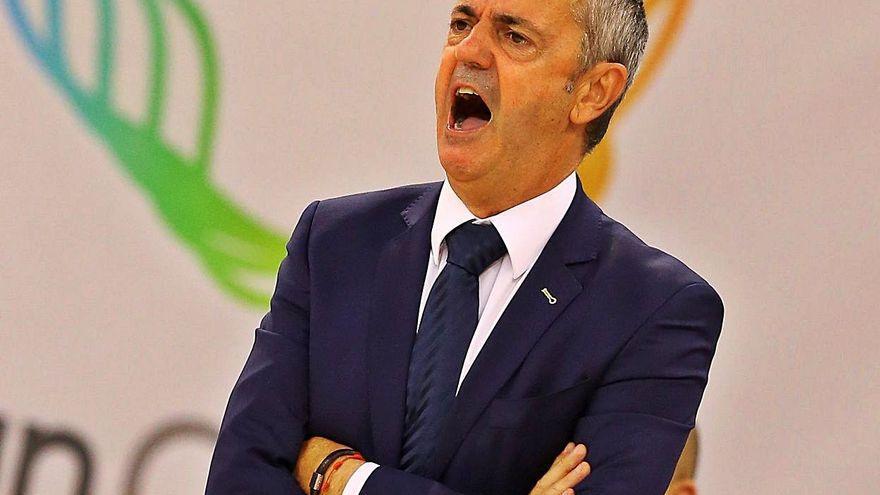 """Porfi Fisac: """"Tenemos que estar muy despiertos"""" ante el MoraBanc Andorra"""