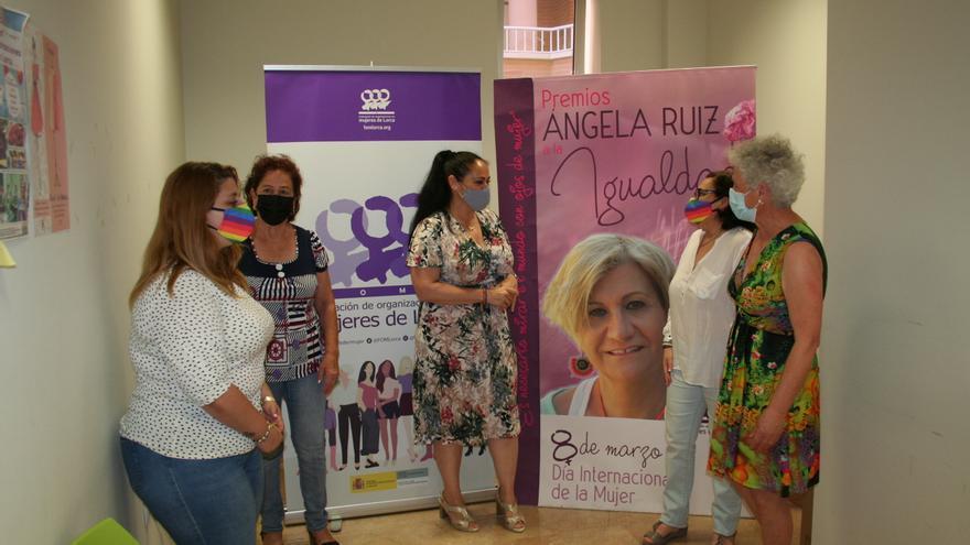 El voluntariado de Emergencias y Protección Civil de Lorca, Premios Ángela Ruiz