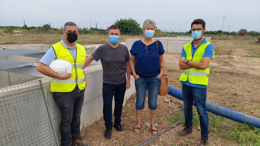 Catarroja recibe una importante mejora de la infraestructura hidráulica de saneamiento