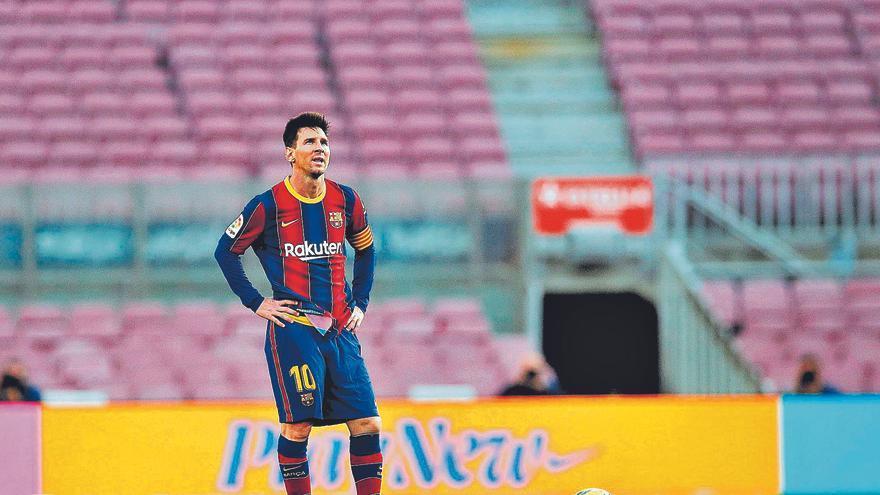 Acaba una era: Messi no continuarà al Barça