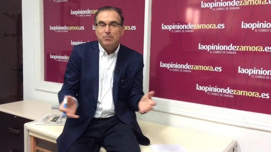 """Antonio Plaza, secretario del PSOE de Zamora: """"¿Traidor yo? Para nada. Si fuera así, habría muchos traidores"""""""