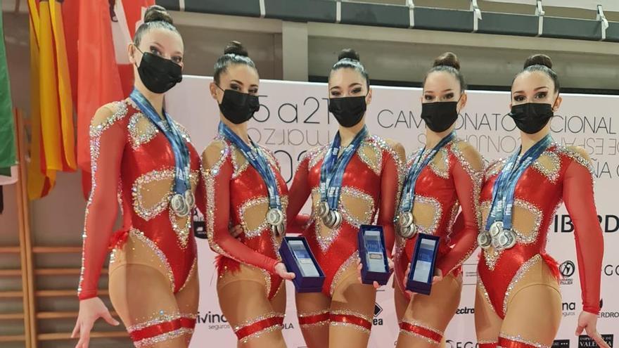 Cuatro medallas de plata para el Cronos de Primera en Valencia