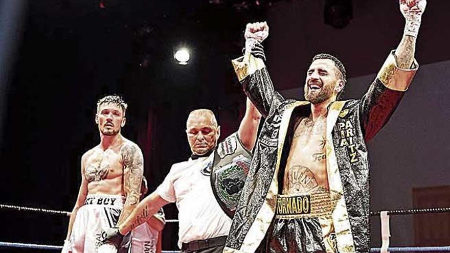 Jon Martínez se hace con el título balear del peso medio