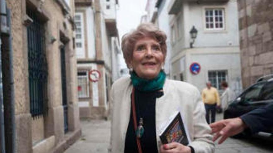 Luz Pozo muere en A Coruña a los 97 años
