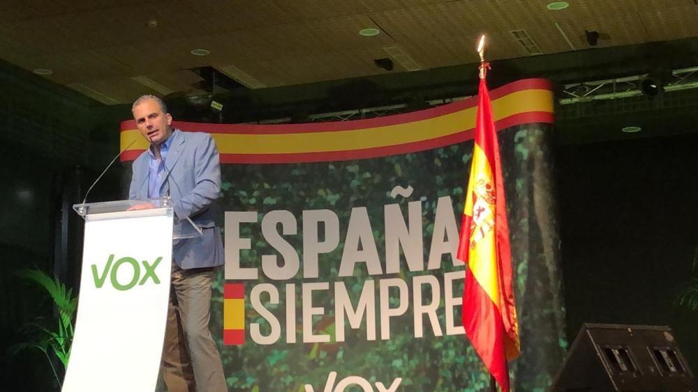 Ortega-Smith en Málaga