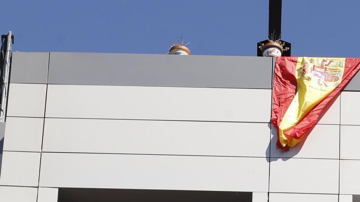 Celebración de Huevos Pintos en los balcones de Pola