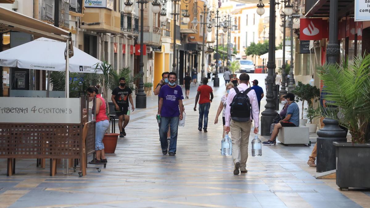 El casco urbano de Lorca seguirá en fase 1