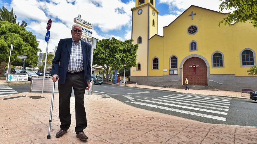La iglesia con cimientos de 'Panchito'