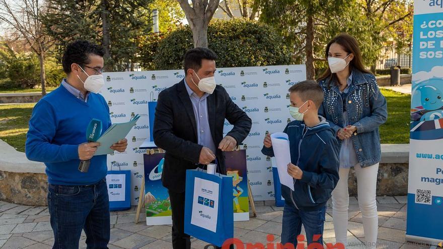 Entrega de premios Aqualia en Caravaca