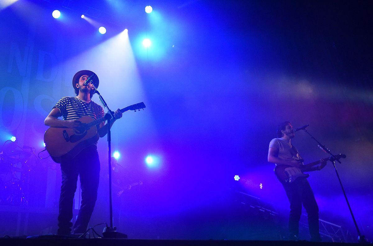Los conciertos de Morat y Amaral en imágenes