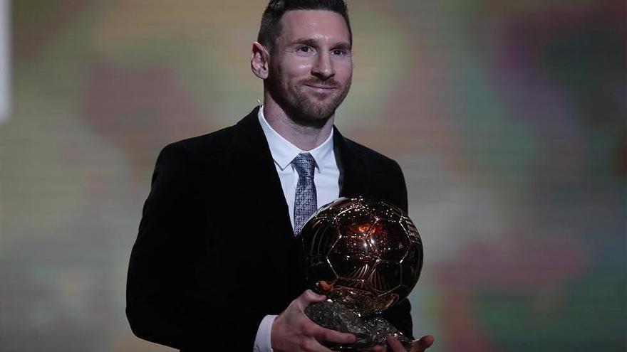 Leo Messi consigue su sexto Balón de Oro