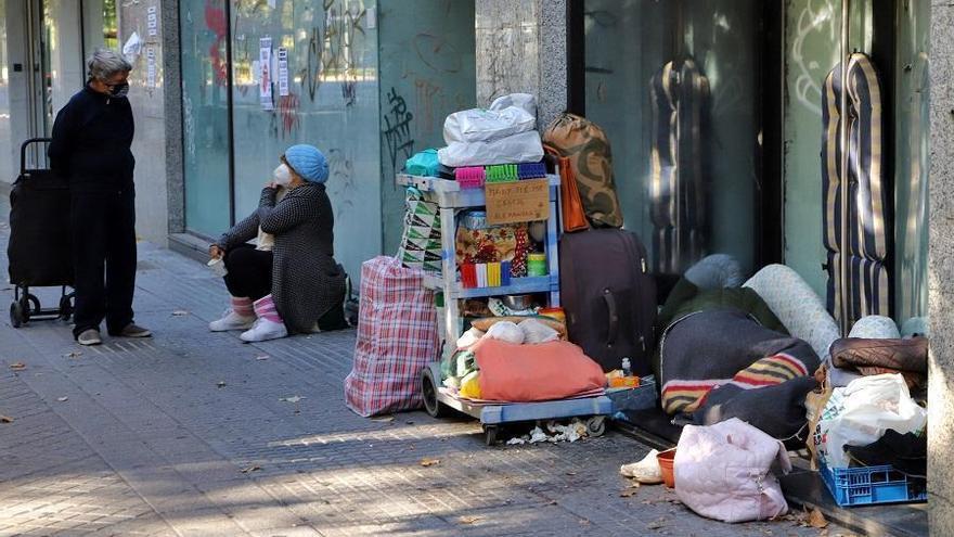 Servicios Sociales advierte que hay disponibles recursos para sin hogar ante la bajada de las temperaturas