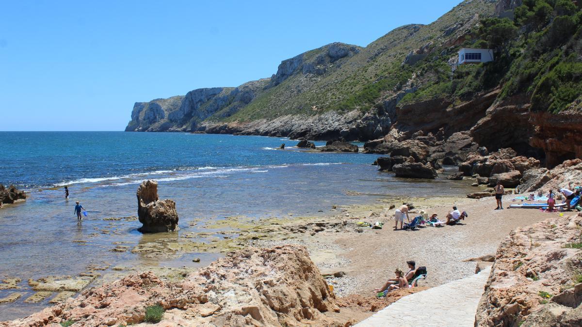 Imagen del litoral de Dénia