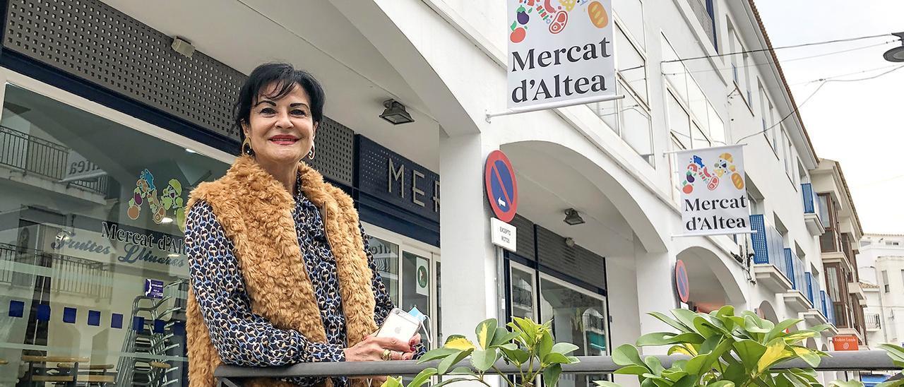 Pepa Molto, vicepresidenta de Confemercats CV