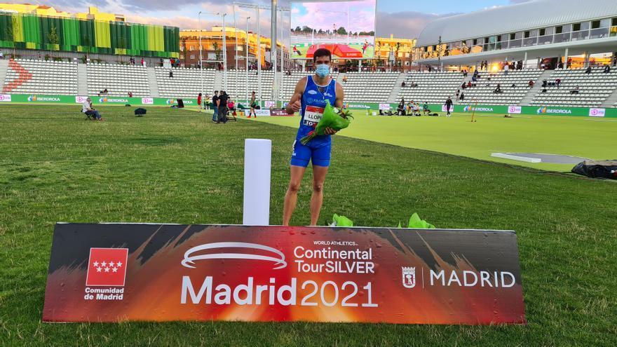 Quique Llopis triunfa en el Mitin Internacional de Madrid con su mejor marca de siempre