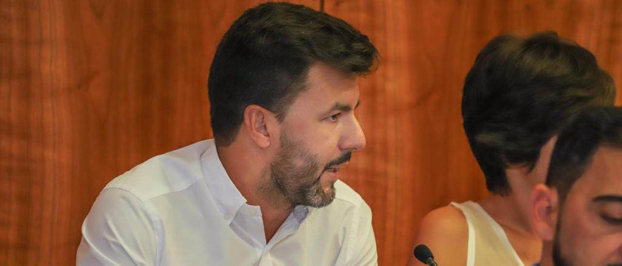 José Aix, portavoz de Ciudadanos.
