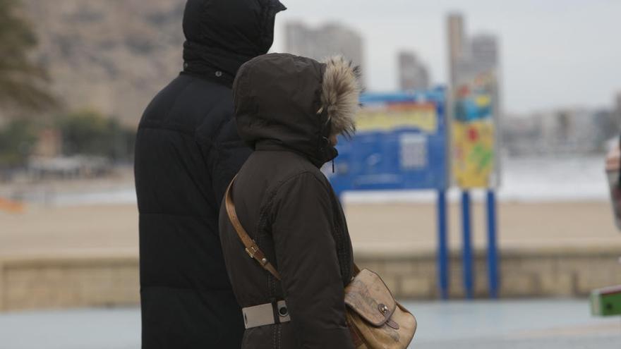 El tiempo en Alicante: Las temperaturas mínimas bajan de forma notable en la mitad sur de la Comunitat