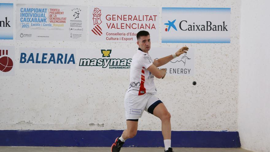 Tonet IV busca repetir final del Individual CaixaBank–Trofeu President de la Generalitat de raspall i Salelles II, superar-se