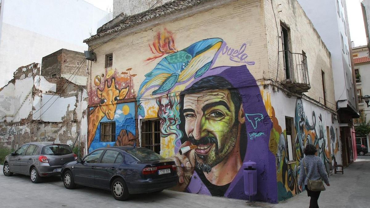 Una imagen del barrio de Lagunillas.