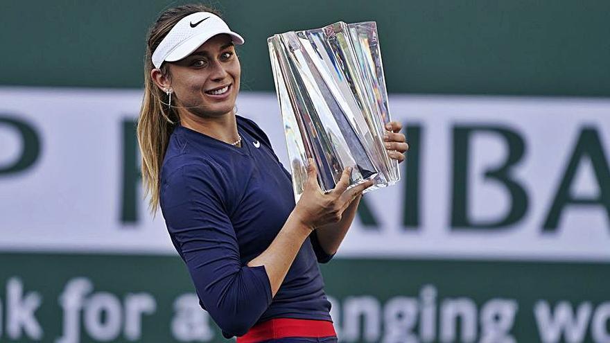 Paula Badosa es la primera española en ganar Indian Wells