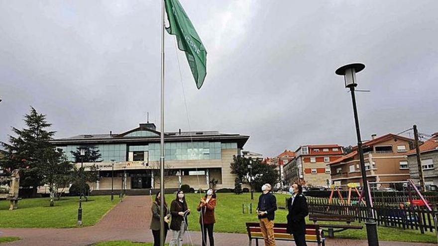 Medio Ambiente renueva la distinción de Bandeira Verde para Moaña