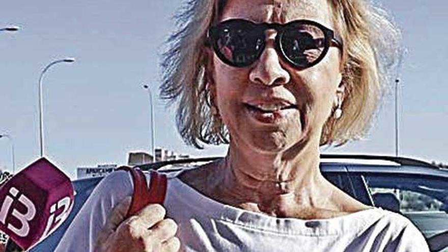 Maria Antònia Munar ya disfruta de permisos penitenciarios con normalidad