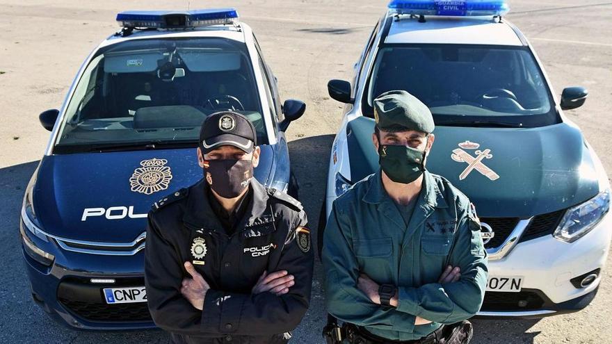 Fuerzas de seguridad: Azules y verdes, unidos en la batalla más dura