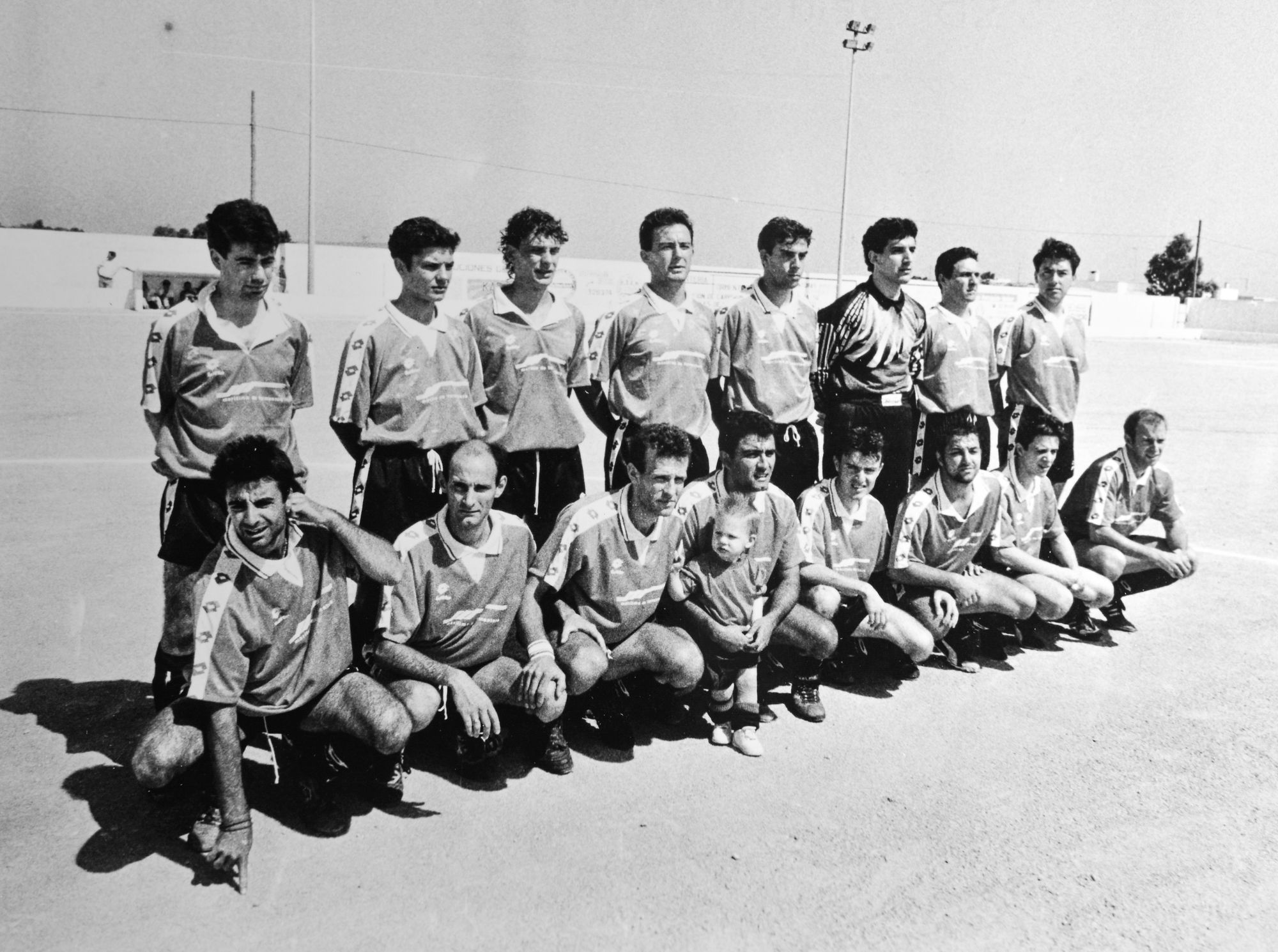 SD Formentera que jugó la fase de ascenso a Tercera División en 1993.