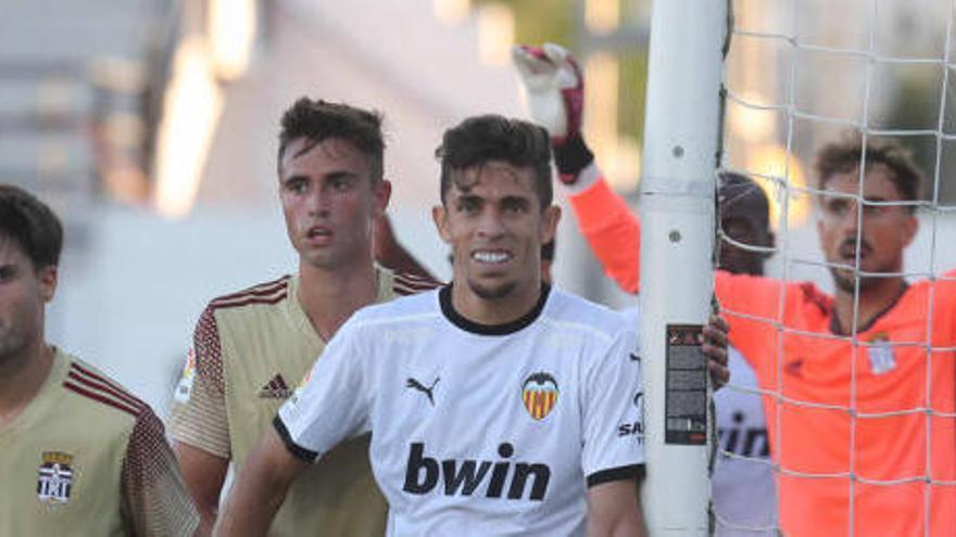 Kang In lidera al Valencia frente al Cartagena