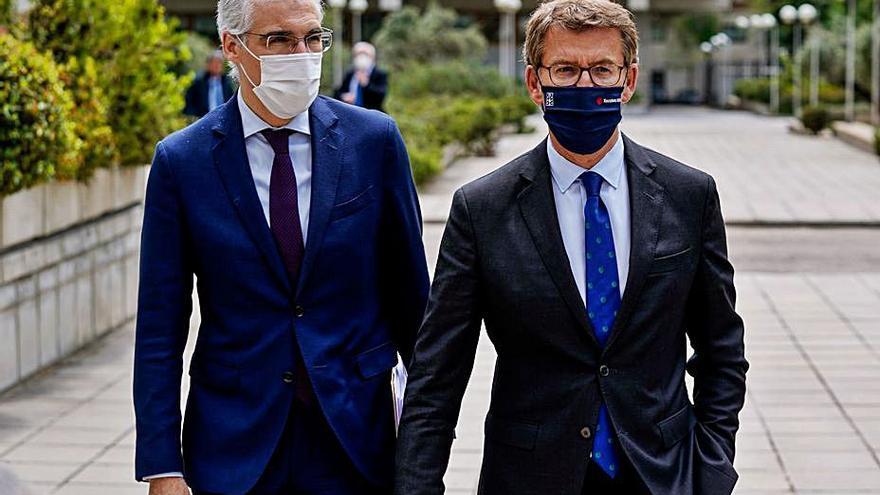 Feijóo reclama a Calviño un reparto de fondos europeos sin intereses políticos