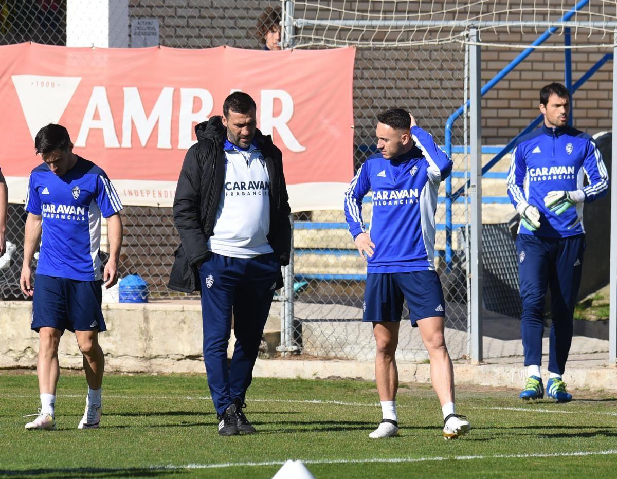Entrenamiento del Real Zaragoza (01-03-17)