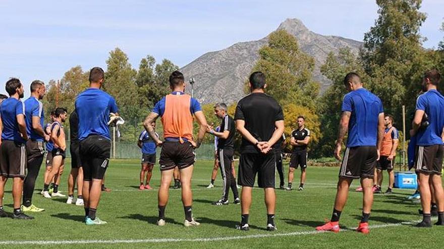 El Marbella FC aparca la opción de un ERTE a su plantilla y técnicos
