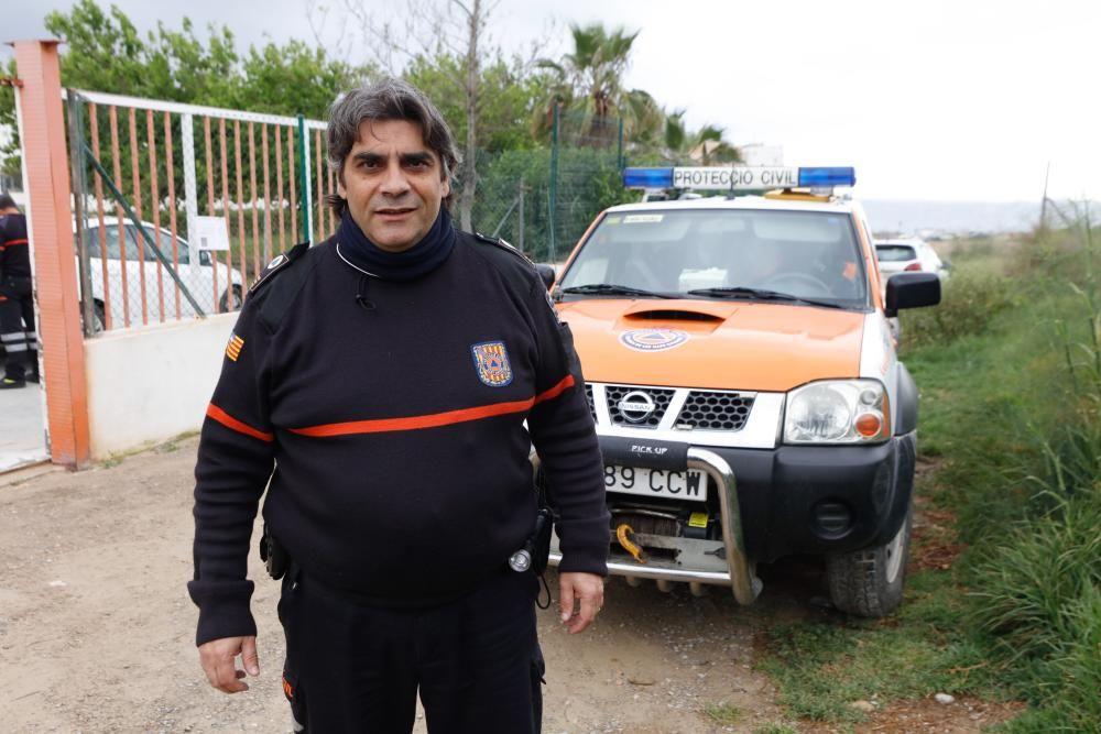 Domingo López, Jefe de la Agrupación de Protección Civil de Sant Antoni