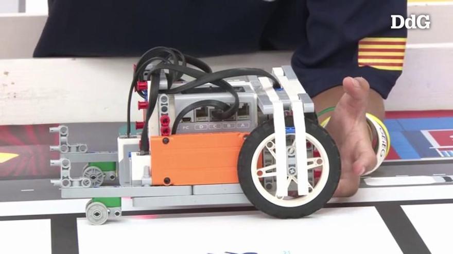 Sis gironins d'entre 10 i 14 anys competiran a Dinamarca en una final de robòtica internacional
