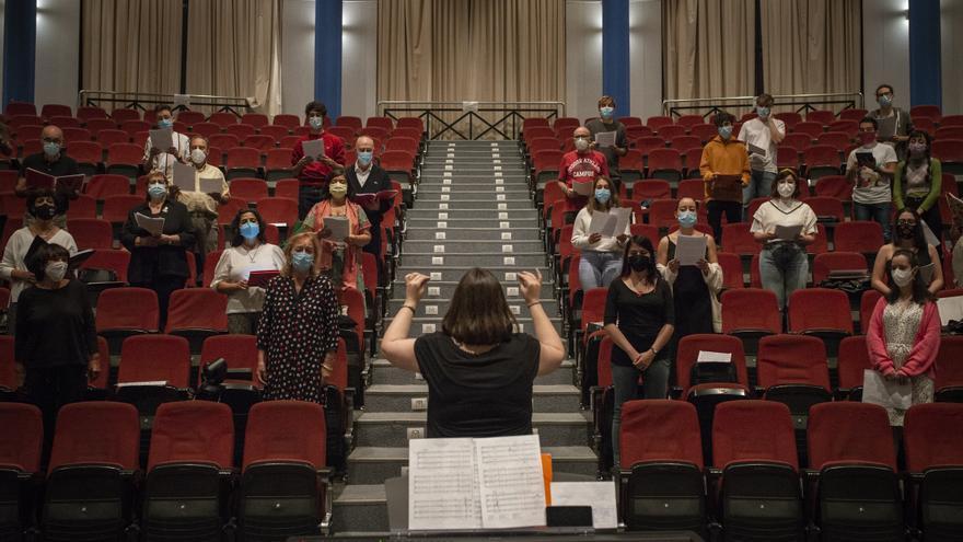 El coro universitario multiplica su voz