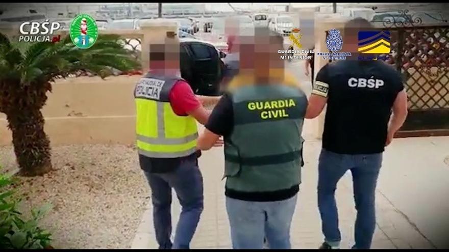 Nuevo golpe al narcotráfico: desmantelada una banda dedicada al cultivo y venta de marihuana que operaba en España y Polonia